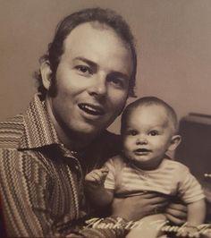 Hank Jr & his baby son Hank III