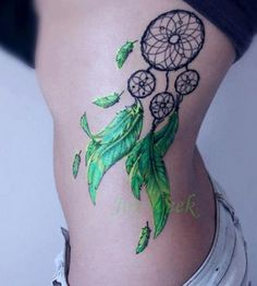 Waterproof-Temporary-Tattoo-sticker-on-body-20-14-5cm-dreamcatcher-dream-catcher-tattoo-Water-Transfer-fake.jpg_640x640.jpg (397×442)