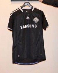 #VirginiaBeach VA Merchandise / Men's Authentic Black #Adidas 2008/2009 #ChelseaFC Away #Jersey Clima365 Size L - Geebo
