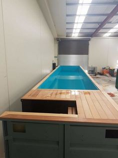 Container Swimming Pool: Exhilarating Ideas for Fun Summertime Backyard Pool Designs, Swimming Pool Designs, Swimming Pools, Shipping Container Swimming Pool, Build Your Own Pool, Hidden Pool, Square Pool, Beach Entry Pool, Piscina Interior