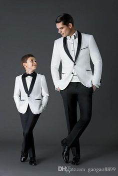 2016 New Arrival Groom Tuxedos Men'S Wedding Dress Prom Suits Father And Boy Tuxedos Men'S Suits Bridegroom Custom Make Cheap Mens Clothing Tux From Gaogao8899, $66.34  Dhgate.Com