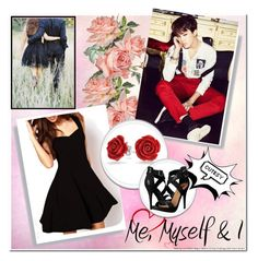 """""""Date With Jimin... ❤"""" by takemetothecookies ❤ liked on Polyvore featuring Bling Jewelry and Michael Antonio"""