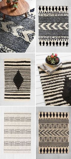 I think the best way to do crazy patterns is black and white! Makes for the perfect backdrop to any living space.