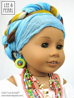 Give your American Girl doll a perfect Afro-Brazilian Baiana wardrobe using Lee & Pearl Pattern 1035: Olá Brasil! Off-the-Shoulder Samba Top and Bahia Dress, and Traditional Brazilian Baiana Headwrap for 18 Inch Dolls. Find this unique and lovely pattern in the Lee & Pearl Etsy store at https://www.etsy.com/listing/540262695/lp-1035-ola-brasil-off-the-shoulder