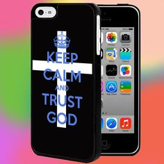 KEEP CALM AND TRUST GOD CHRISMAST FOR IPHONE AND SAMSUNG GALAXY CASE #PNY