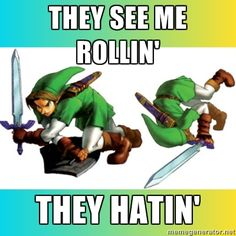 this made me smile ~ Legend of Zelda Humor