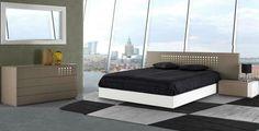 Mobiliário moderno de quarto Modern furniture of Bedroom www.intense-mobiliario.com  TECNIKAA