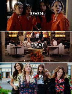 """Thank you PLL for seven great years! - """"That's immortality my darlings."""" 