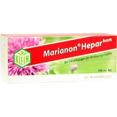 MARIANON Heparhom Tropfen:   Packungsinhalt: 100 ml Tropfen PZN: 02292047 Hersteller: Dr. Gustav Klein GmbH & Co. KG Preis: 17,08 EUR…