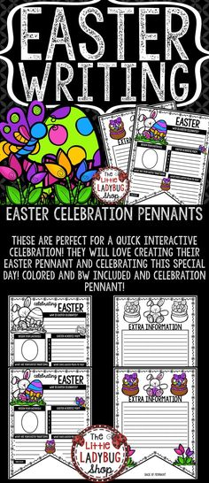 Easter Writing Penna