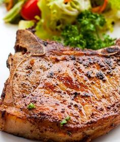 Easy Oven Baked Pork Chops.Quick and easy recipe for oven baked pork chops. This recipe uses just the basics to make an absolutely delicious pork chop right in the oven. Quick, easy, and you will love it!