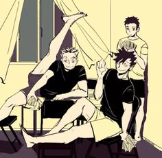 Bokuroo>> don't you mean BROkuroo ahh i'd say i was sorry, but that'd be a lie<<< OMG BROKUROO I LOVE IT