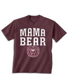 Missouri State University Official Apparel - this licensed gear is the perfect clothing for fans. Makes a fun gift!