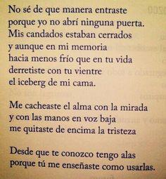 #Diego Ojeda #Chica revolucionaria Love Poems, So True, Me Quotes, Sayings, Words, Diego Ojeda, Life, Club, Inspiration