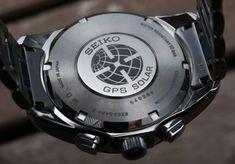 Seiko Astron GPS Solar Dual Time Watch Review | aBlogtoWatch Gadget Watches, Seiko Watches, Popular Watches, Watches For Men, Ecg App, Seiko Sportura, Photovoltaic Cells, Herren Chronograph, Android Watch