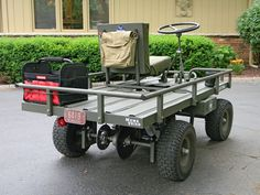 M274 military mule half scale home build - Page 4 - DIY Go Kart Forum