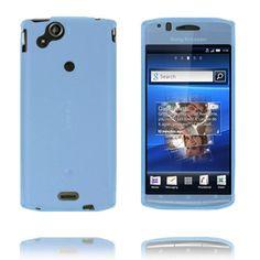 Mjukskal Full Front (Ljusblå) Sony Ericsson Xperia Arc-Skydd