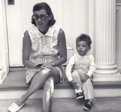 David Netto with his mother, Kate, 1973 | The Tory Blog