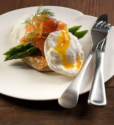 Ricotta hash, with poached egg and smoked salmon: Eat Fit Food's healthy breakfast option tastes amazing and will ensure you are full till lunchtime.