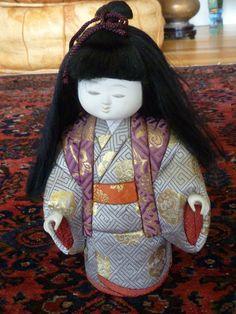 Vintage Japanese Kimekomi Doll