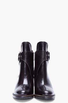 OPENING CEREMONY Black Buckled San Telmo Boots