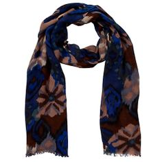 45509365499 John Lewis Batik Floral Print Scarf
