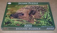 """TOYRIFIC PUZZLE """"HEDGEHOG"""" 1000 PIECE DELUXE JIGSAW PUZZLE NEW/SEALED"""