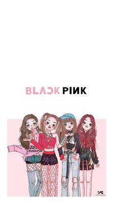 #blackpink #wallpaper #hd #cute #colorful #lisa #rose #jisoo #jennie #fanart #chibi blackpink wallpaper