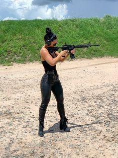 Apocalypse, Leather Pants, Guns, Poses, Pop Pop, Beautiful, Design, Fashion, Weapons Guns
