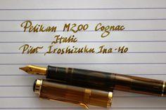 Write to Me Often: Pelikan M200 Cognac Special Edition (Italic) Review / Pelikan M200 Cognac İtalik İncelemesi