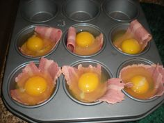 Being Healthier » Recipe of the Week: Egg and Bacon Muffin Cups