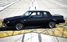 1987 Buick Regal Grand National Side