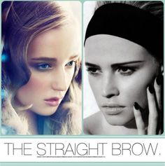 The straight brows are the best for a sharp look ! Straight Eyebrows, Thick Brows, Health And Beauty Tips, Beauty Make Up, Hair Beauty, Kiss Makeup, Hair Makeup, Beauty Secrets, Beauty Hacks