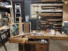 Robert Stephen's wood working studio. Community Art, Wood Working, Trail, Studio, Home Decor, Woodworking, Study, Decoration Home, Interior Design