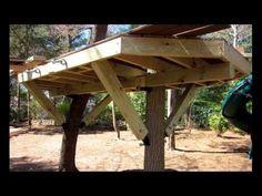 How to Install a Tree House Knee Brace & Bracket