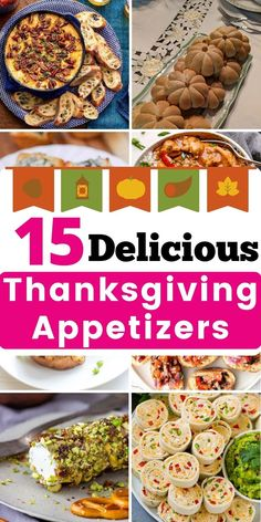 15 Delicious Make-Ahead Thanksgiving Appetizers - Easy Appetizers recipes