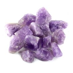 Crystal Allies Materials: Bulk Rough Amethyst Quartz Stones from Madagascar - Large Raw Natural Crystals for Cabbing, Cutting, Lapidary, Tumbling, and Polishing & Reiki Crystal Healing *Wholesale Lot* Amethyst Quartz, Amethyst Stone, Quartz Stone, Amethyst Rings, Amethyst Color, Quartz Crystal, Buy Crystals, Natural Crystals, Crystal Healing Stones
