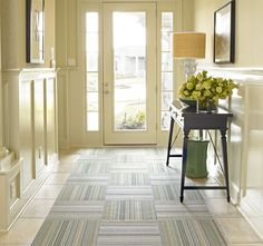 Martha Stewart + Flor carpet tiles