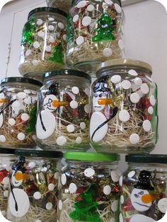 bocaux bonbons noël