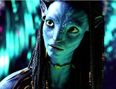 avatar, someday we will be able to do make-up this good and make it real...
