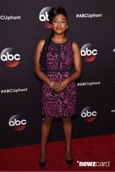 Jerrika Hinton Photos - Actress Jerrika Hinton attends the 2015 ABC Upfront at Avery Fisher Hall, Lincoln Center on May 2015 in New York City. Stephanie Edwards, Mireille Enos, Amazon Prime Video, Up Front, Photo L, Celebs, Celebrities, Red Carpet Fashion, Greys Anatomy