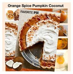 """""""Favorite Pie - Orange Spice Pumpkin Coconut"""" by bklou ❤ liked on Polyvore featuring interior, interiors, interior design, home, home decor and interior decorating"""