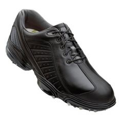 SALE - Mens FootJoy 53221 Golf Cleats Black Leather - Was $129.99 - SAVE $20.00. BUY Now - ONLY $109.97