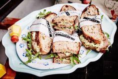 Unser beliebtes Rezept für Hack-Sandwiches und mehr als 55.000 weitere kostenlose Rezepte auf LECKER.de.
