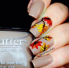 #fall #nails #nailart