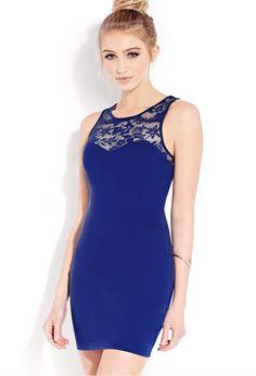 Sweet Side Bodycon Dress   FOREVER21 - 2000090843
