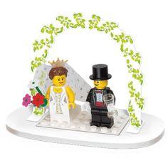 Lego Bride and Groom Wedding Favour Set #Wedding Gifts http://www.giftgenies.com/presents/minifigure-wedding-favour-set