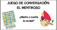 Hoy os traigo un nuevo juego de comunicación para llevar al aula con vuestros alumnos de nivel B1-B2. Para jugar al Mentiroso  ... Spanish Teaching Resources, Spanish Activities, Class Activities, Teaching Materials, Teacher Resources, Bilingual Classroom, Spanish Classroom, Spanish Grammar, Spanish Teacher