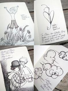 Les Papillons de Victor on sketches.