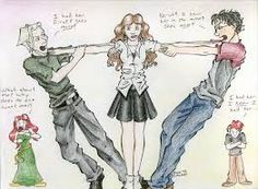 Hermione and Draco - Yule Ball by funny-neko on DeviantArt Fanart Harry Potter, Harry Potter Day, Harry Potter Artwork, Harry Potter Ships, Harry Potter Quotes, Fred And Hermione, Scorpius Rose, Dramione Fan Art, Draco Malfoy